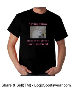 Saving Snow black/pink Design Zoom