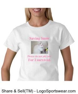 Saving Snow Pink Design Zoom