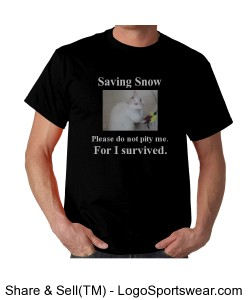 Saving Snow black/white Design Zoom