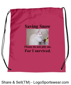 Saving Snow Backpack Design Zoom