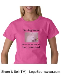 Saving Snow Pink/Black Design Zoom